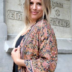 Kimono morgonrock mode boho