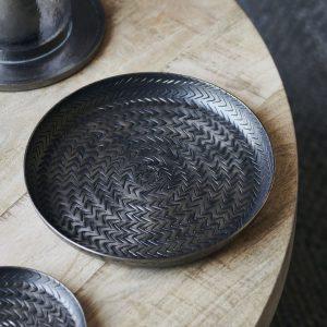 House Doctor fat aluminium industri glasunderlägg underlägg dekoration inredning jul