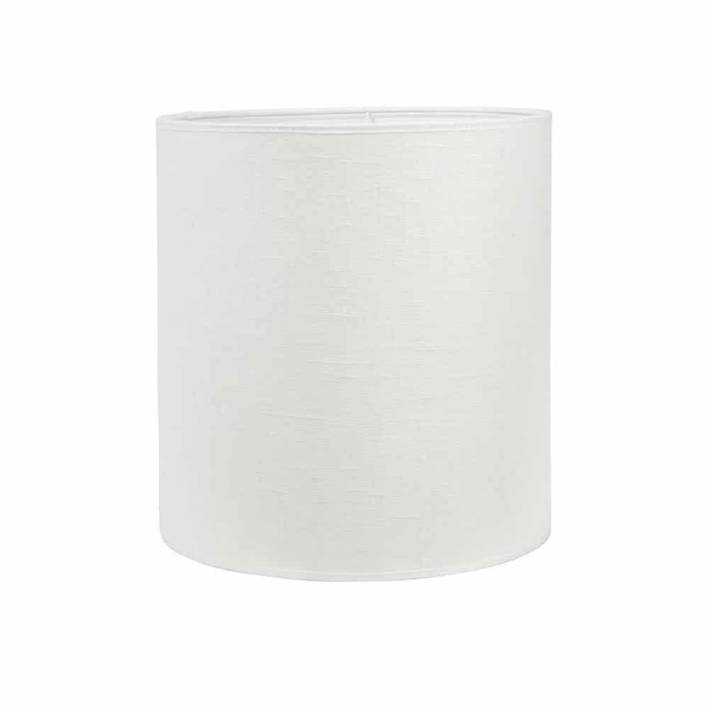 lampskärm stor linne offwhite vit xl